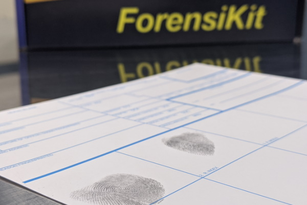 ForensiKit by Crime Scene - Fingerprinting with Ink