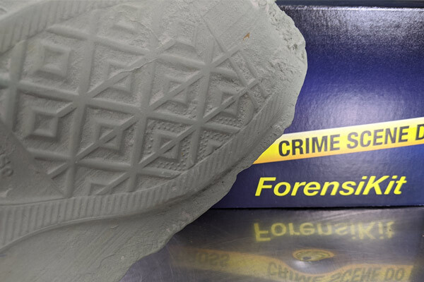 ForensiKit by Crime Scene - Footprint Casting