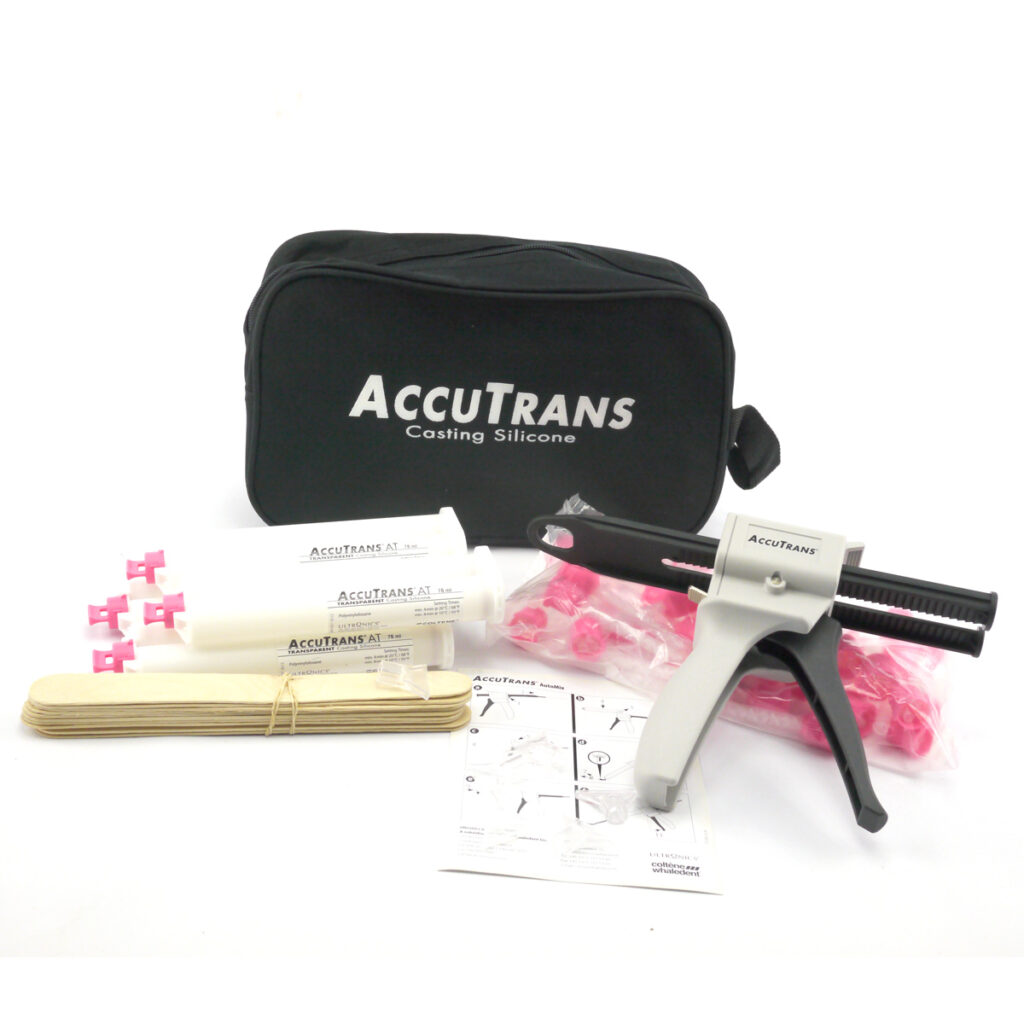 Contents of the AccuTrans casting kit