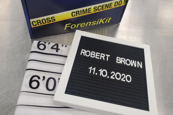 Partial contents of the Mugshots ForensiKit by Crime Scene