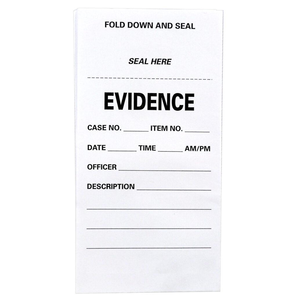 Trace Evidence Folds